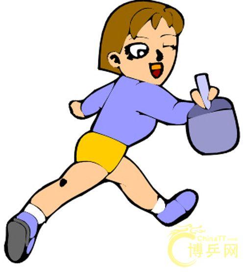 乒乓球卡通人物 - 神农架分站官方服务区