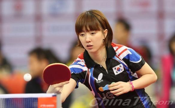 韩国乒乓球美女; 韩国乒乓球美女
