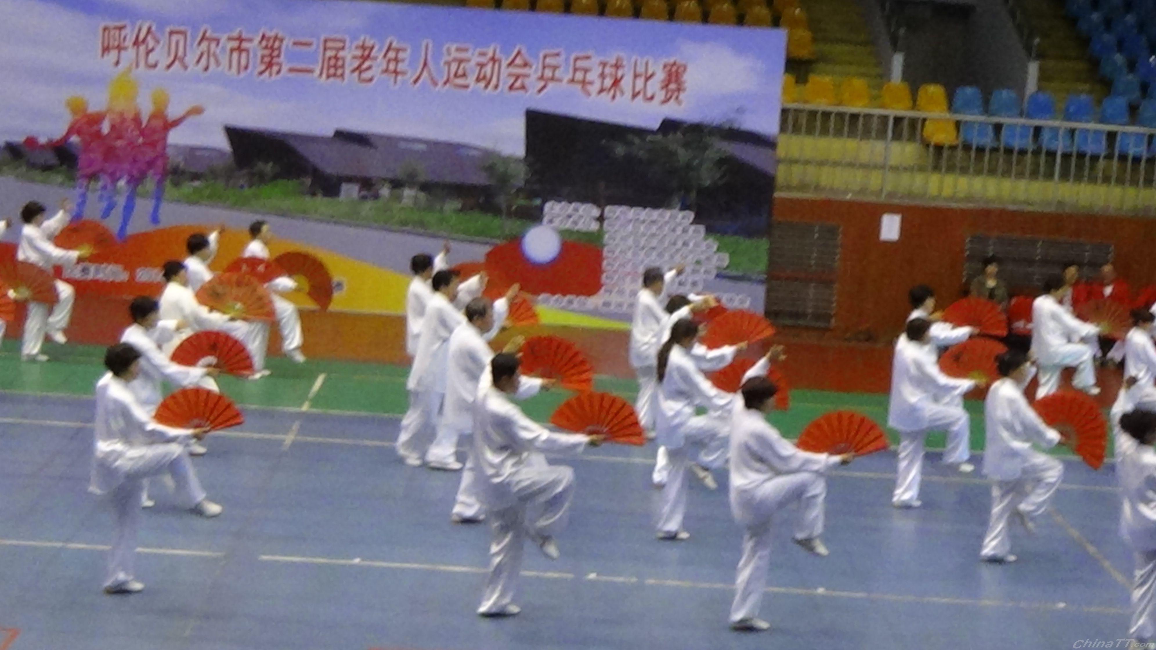 初次参赛老年人乒乓球比赛-快乐老人俱乐部上海放风筝图片