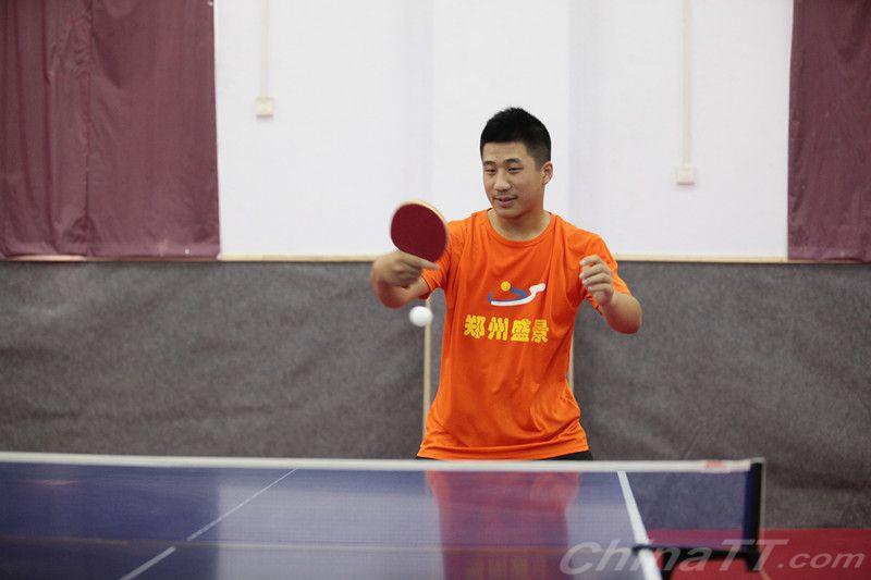 赛维卡杯《全民姿势》河南省乒乓球争霸赛圆满打步骤台球的体育图片